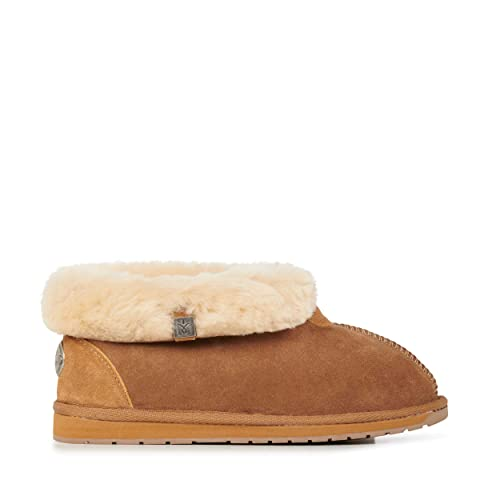 83786b76a3f3 Image Unavailable. Image not available for. Color  EMU Australia Womens Slippers  Platinum Albany Sheepskin ...