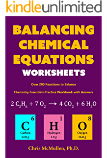 Amazon a simple introduction to chemistry ebook max parsonage balancing chemical equations worksheets over 200 reactions to balance chemistry essentials practice workbook fandeluxe Images