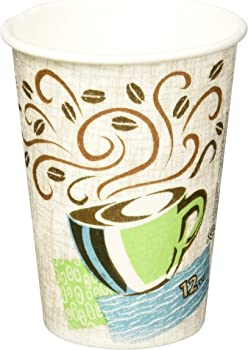 50-Pack Dixie PerfecTouch 12oz Insulated Paper Hot Cups