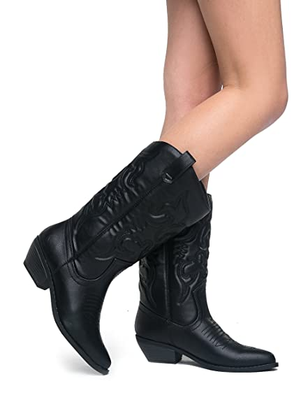 5caea2ce7c51 The Best Soda Womens Cowboy Boots. Reviews and Buying Guide on ...