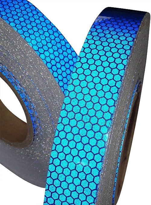 5 opinioni per Nastro Adesivo Alta Visibilità Riflettente Colore Blue 25mm x 2.5m