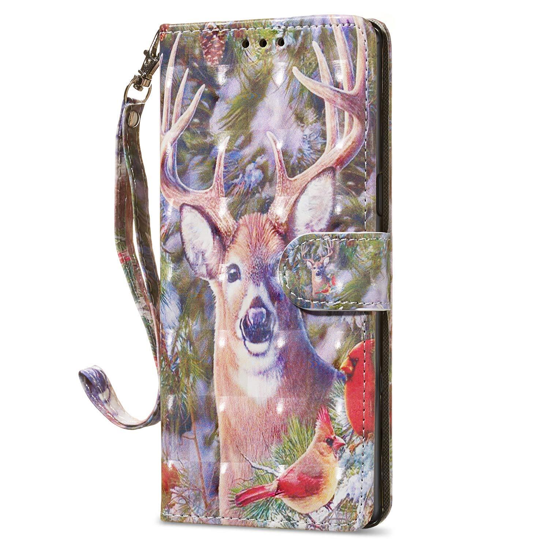 HUDDU Kompatibel mit Samsung Galaxy Note 8 Handyh/ülle Leder Wallet Flip Case Tasche PU Brieftasche Schutzh/ülle Ultra D/ünne St/änder Handytasche Magnetverschlu/ß Card Holder Turm