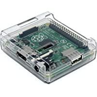 Case for Raspberry Pi Model A+ (Plus) Colour: Clear Transparent Access to all Ports