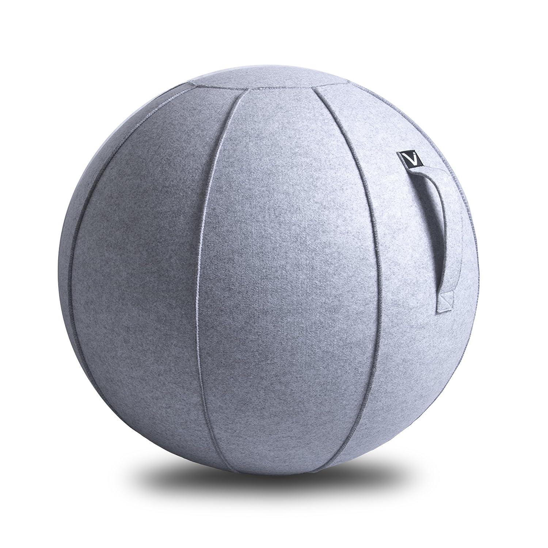 Amazon Vivora Luno Exercise Ball for Home fice Yoga