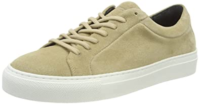 Shoe White Femme Suede Elpique Camel Royal Republiq Outsole Baskets qgEwngIA