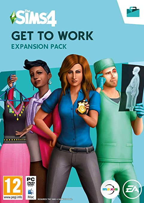 Electronic Arts The Sims 4: Get to Work, PC - Complementos para ...