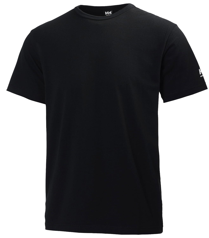 Helly Hansen Manchester T-Shirt Tee 100% Cotton, black, 34-079098-990-3XL