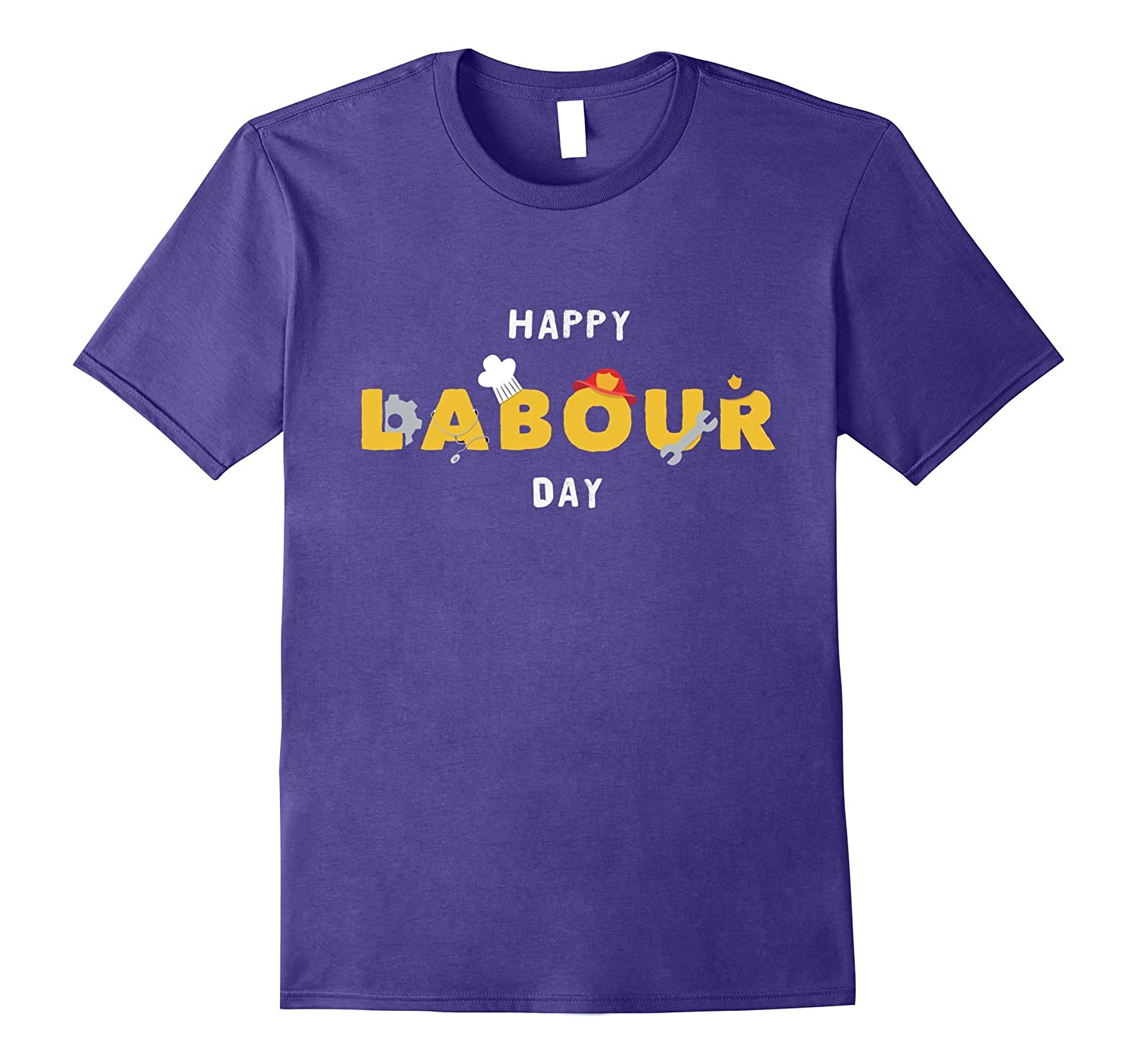 Happy Labour Day 2017 T Shirt For Workers-BN