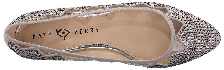 Katy Perry Women's The Hesita Ballet Flat B06XGDP4MS 8.5 B(M) US|Grey