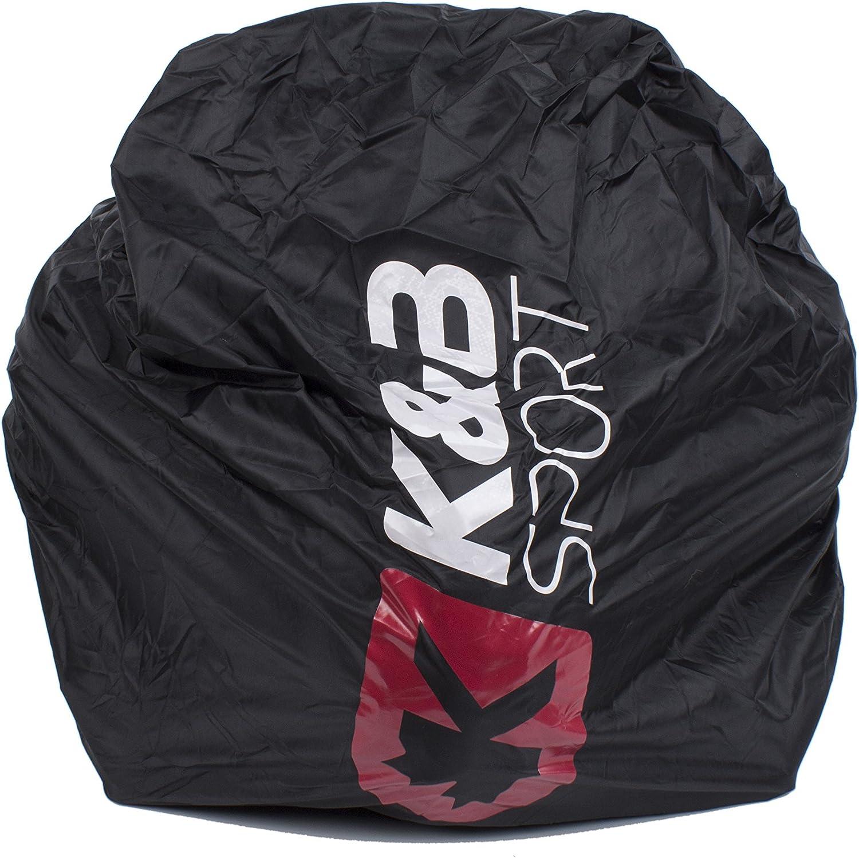 Rubber Black KGB Sport Boot Packs One Size