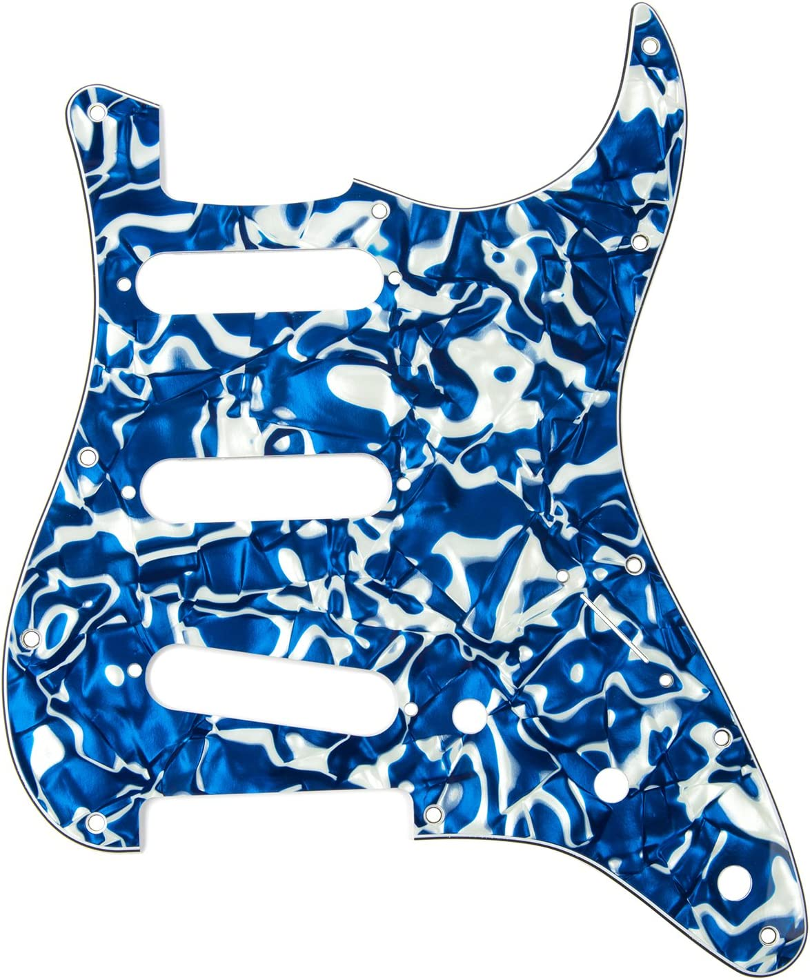 Gold Pearl D/'Andrea Strat Pickguards for Electric Guitar