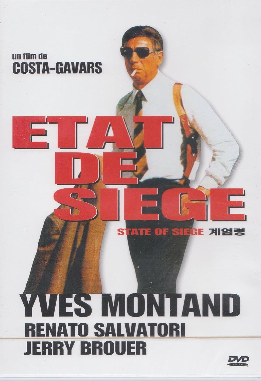 ETAT DE SIEGE: Amazon.fr: Yves Montand,, Renato Salvatori, COSTA GAVRAS:  DVD & Blu-ray