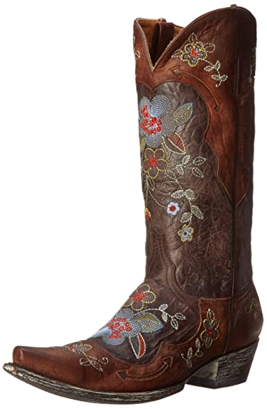 Old Gringo Women's Bonnie Western Boot, Chocolate/Brass, ...