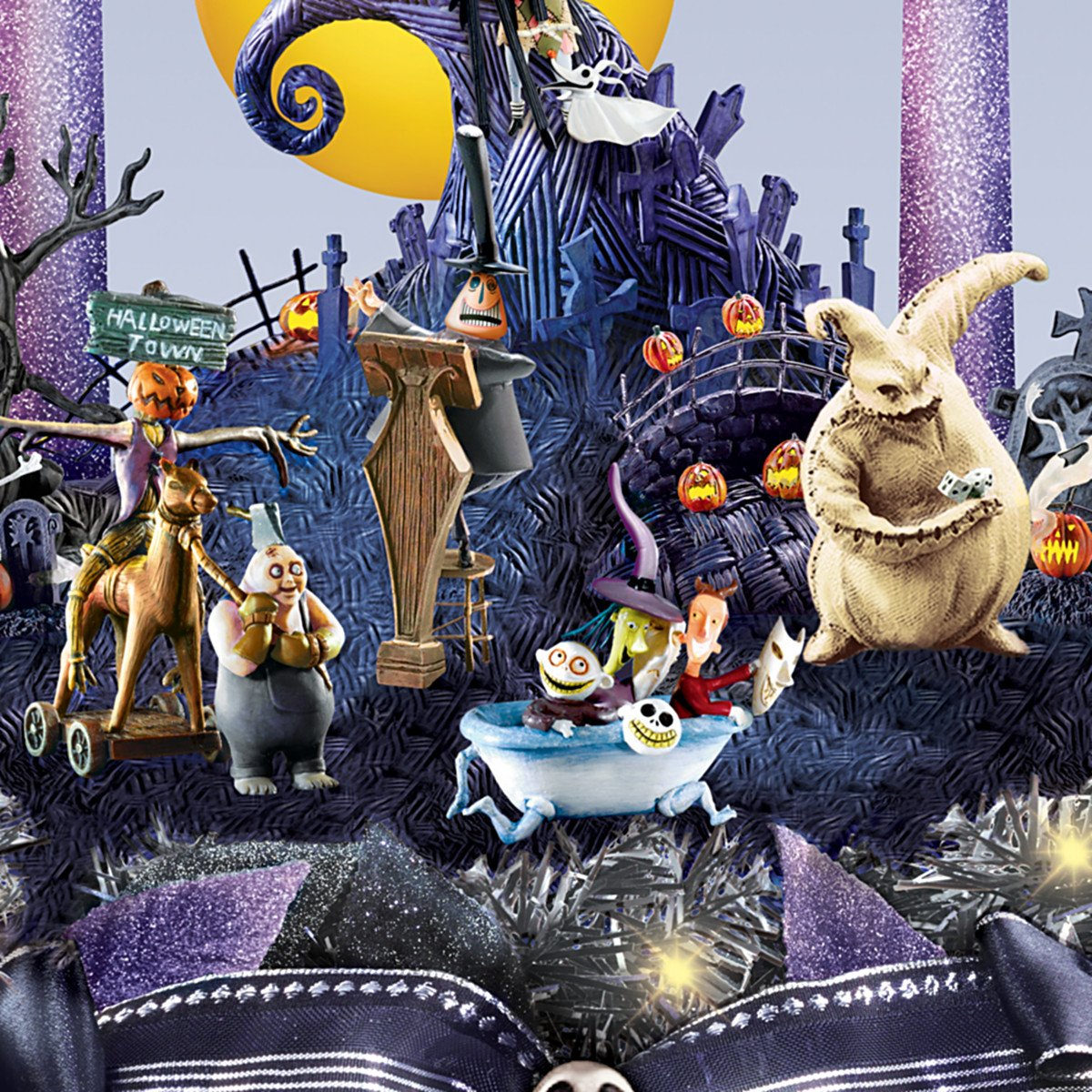 Amazon.com: Disney Nightmare Before Christmas Floral Centerpiece ...