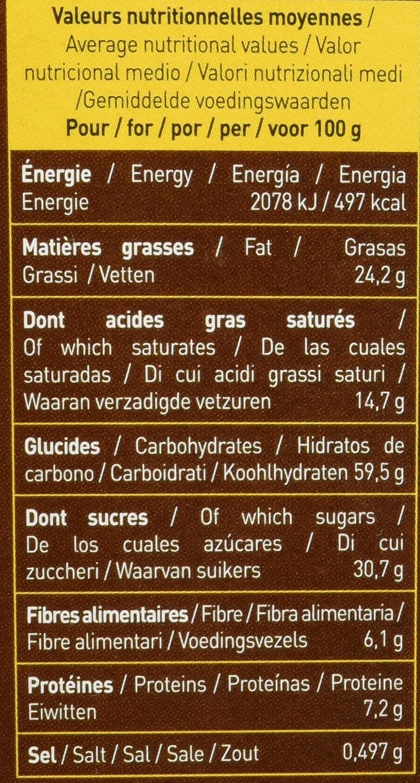 Galletas Tentación jengibre y limón bañadas en chocolate negro BIO - Le Moulin du Pivert - 130g, Paquete de 4: Amazon.es: Alimentación y bebidas