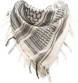 FREE SOLDIER Bufanda Militar 100% algodón Shemagh Tactical Desert ...