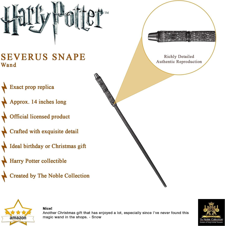 D/éguisements ou d/écoration,A,36cm XGXQBS Baguette de Noyau m/étallique Assistant Baguette Severus Rogue Baguette Magique Parfait pour Cosplay