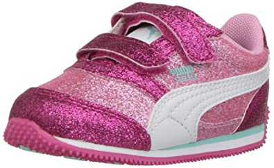 Image Unavailable. Image not available for. Colour  PUMA Girls  Steeple  Glitz ... caa77c8be