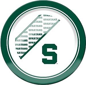 NCAA Michigan State Spartans Melamine Dinner Plate