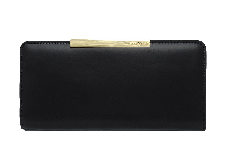 8e359fc37662 Ted Baker Purse Black Gold Metallic Bar with Dust Bag Rosaria   Amazon.co.uk  Luggage