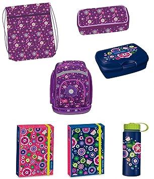 Functional Flores Set de accesorios escolares Mochila Escolar (también utilizable