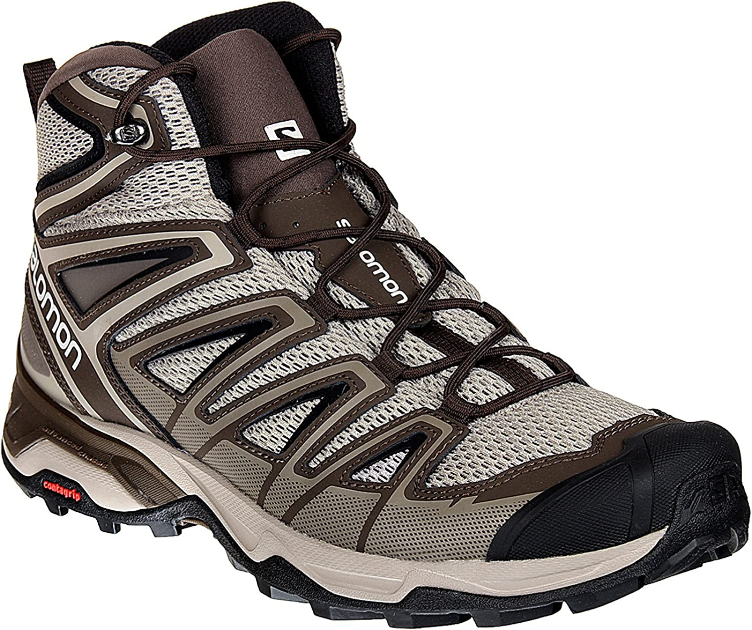 Salomon Womens X Ultra 3 Wide Mid GTX Hiking Shoes Shoes dom