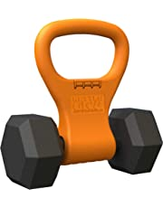 Kettle Gryp - Kettlebell Adjustable Portable Weight Grip Travel Workout Equipment Gear for Gym Bag, Crossfit WOD, Weightlifting, Bodybuilding, Lose Weight   Clamps to Dumbells   Made in U.S.A.