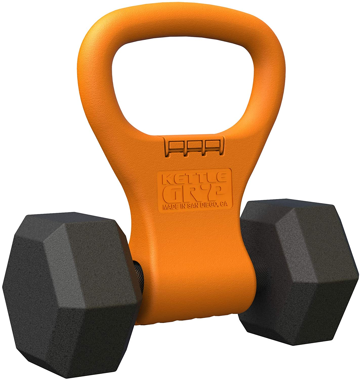 Kettle Gryp - Kettlebell Adjustable Portable Weight Grip Travel Workout Equipment Gear
