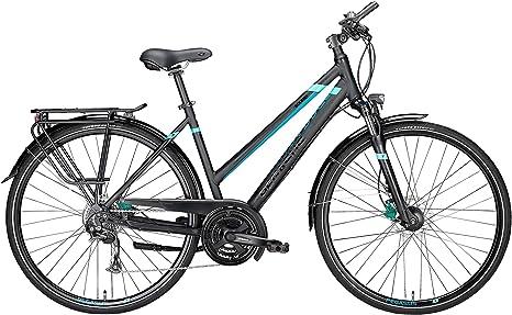 Pegasus bicicleta de trekking Solero SL Disc Keystone Mujer Negro ...