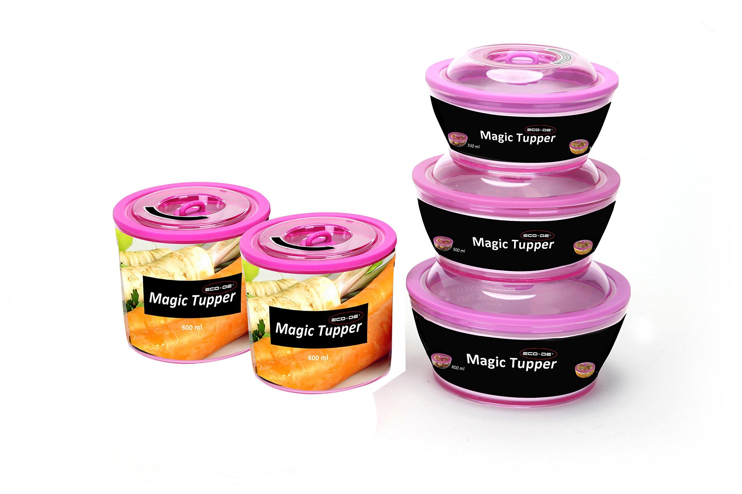 E-CODE Magic Tupper 10-Piece Storage Set