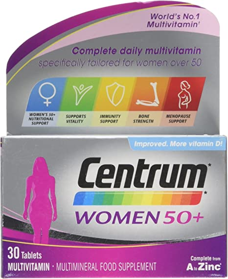 centrum finished 50 womens