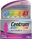 CENTRUM ADVANCE 50 Plus Multivitamin Tablets for Women, Pack of 30