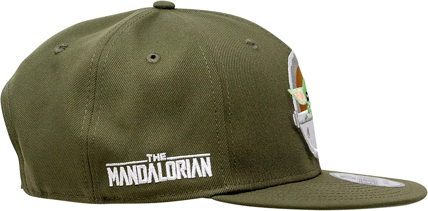 New Era Mandalorian The Child New Olive Star Wars Snapback Cap 9fifty 950 OSFA Limited Exclusive Edition