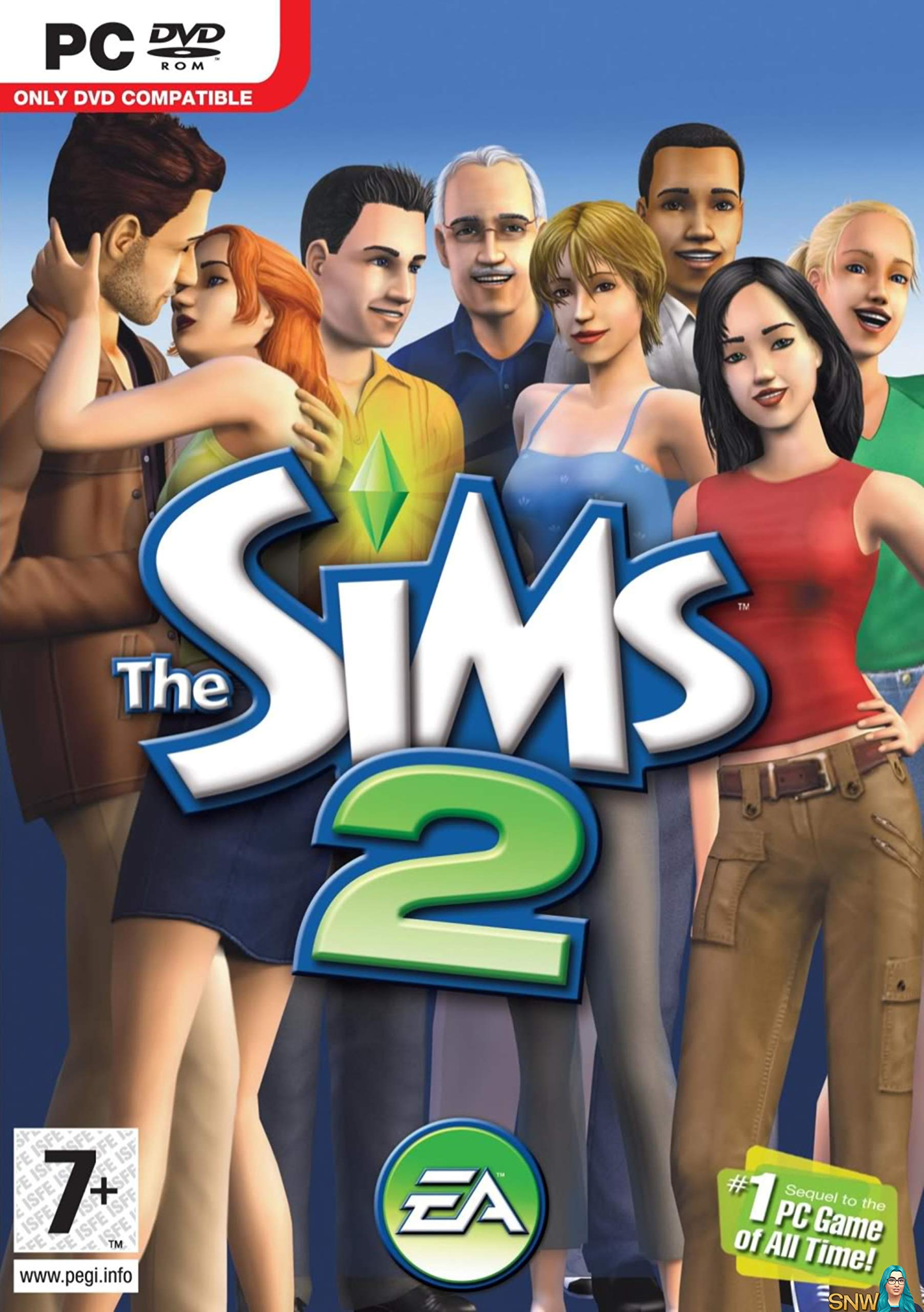 The Sims 2 (PC DVD)