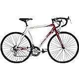 British Eagle Men's Velocita Road Bike - Red/White, 12+ Years