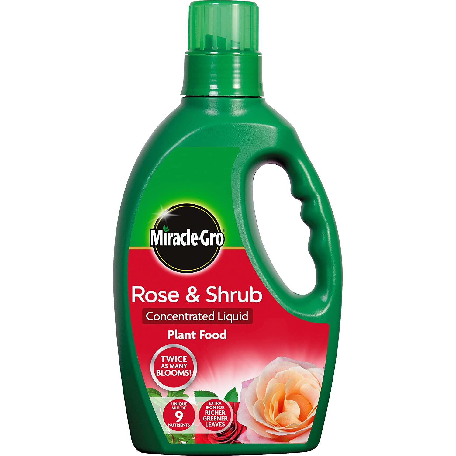 Miracle-Gro Rose & Shrub Concentrated Liquid 1L Evergreen Garden Care Ltd 100067