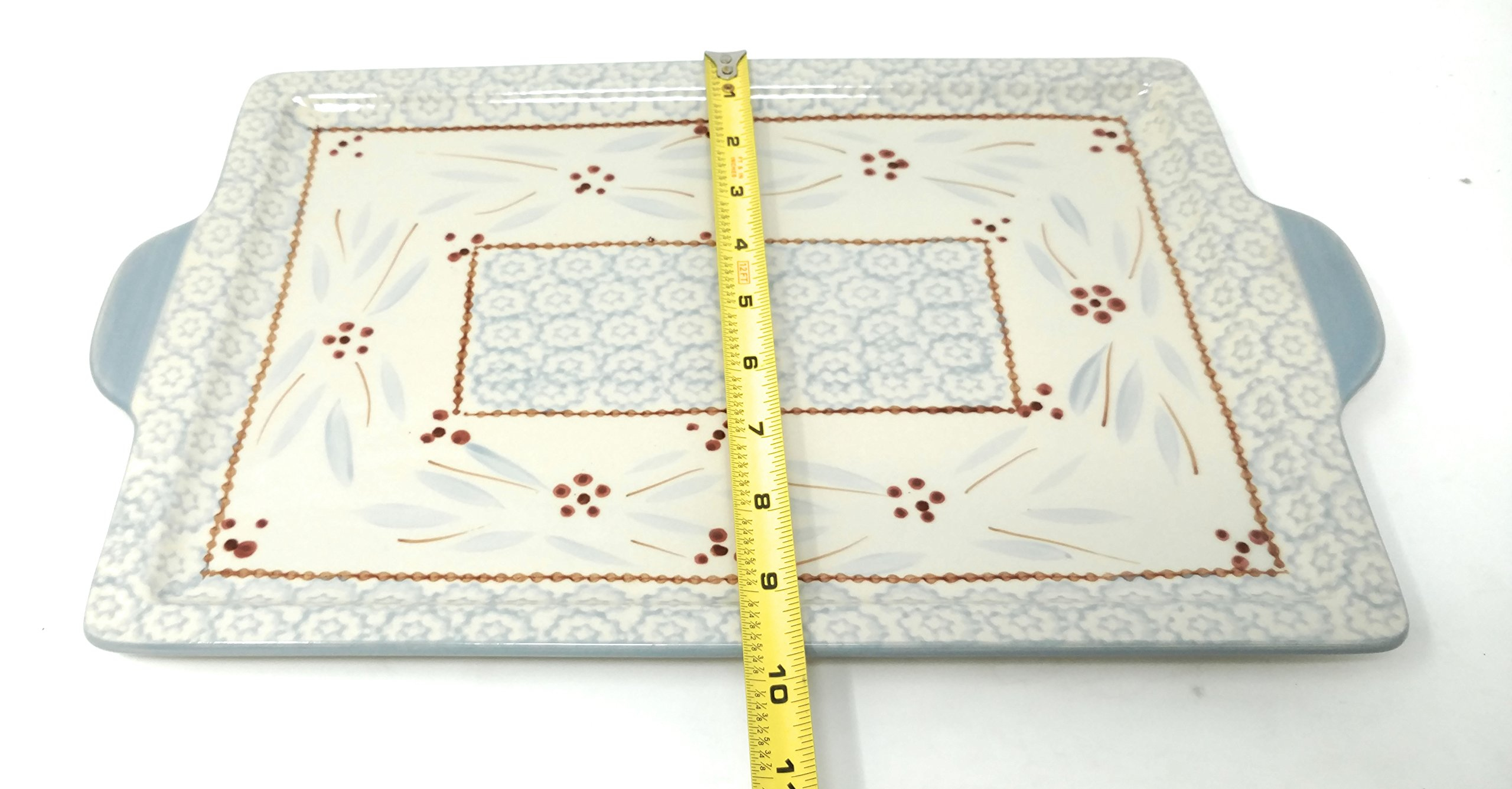 Temp-tations 13''x9'' Cookie Sheet, Platter, Tray or Replacement Lid-It (Old World Fireworkfetti) by Temptations (Image #4)