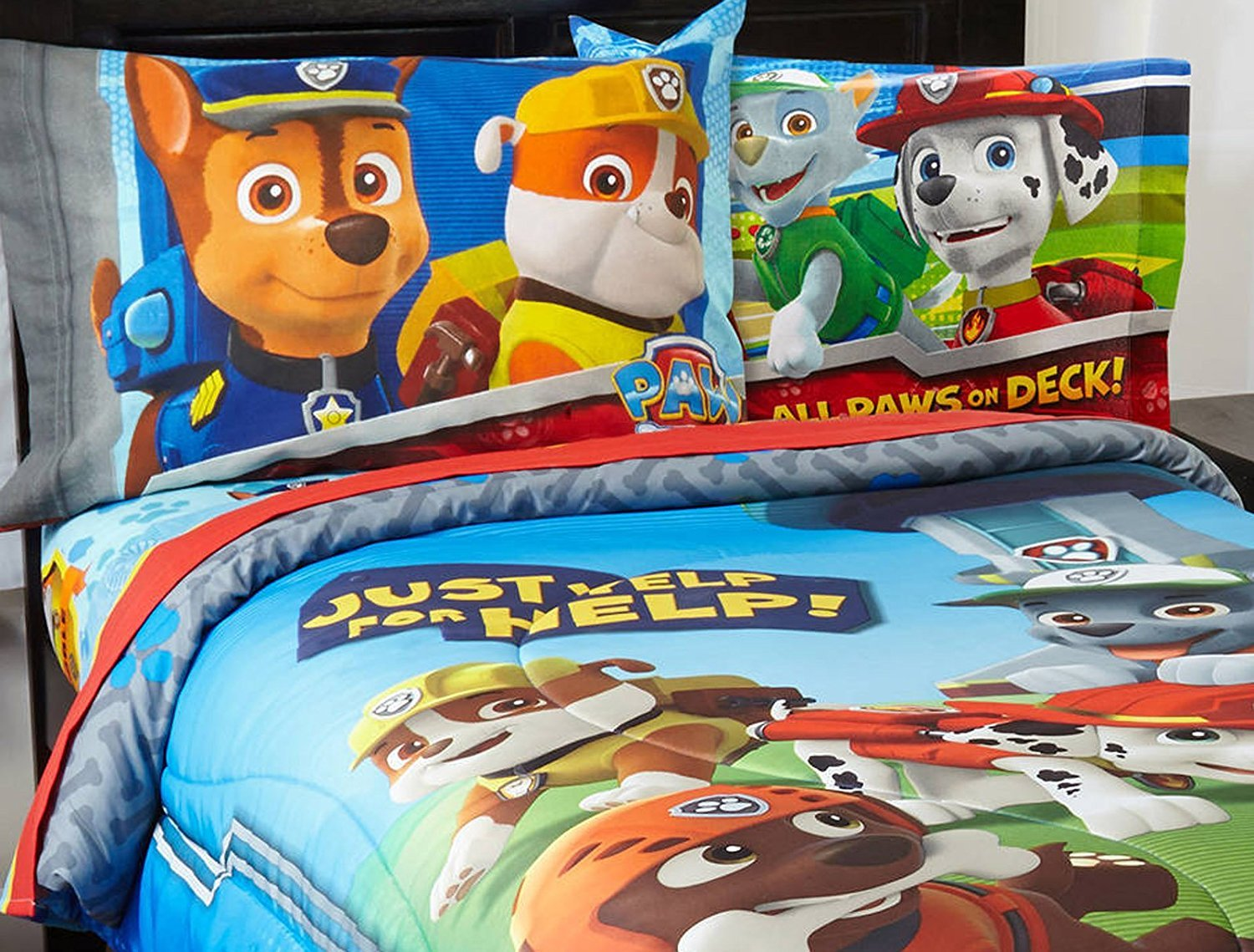 Nickelodeon Paw Patrol Twin Sheet Set