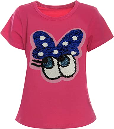 BEZLIT - Camisa Deportiva - Blusa - Estrellas - Cuello Redondo - Manga Corta - para niña Rosa 12 años: Amazon.es: Ropa y accesorios