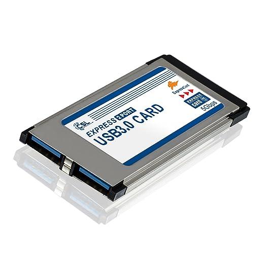 237 opinioni per CSL- Scheda Express Card PCMCIA USB 3.0 Super Speed (34mm / 2 porte /