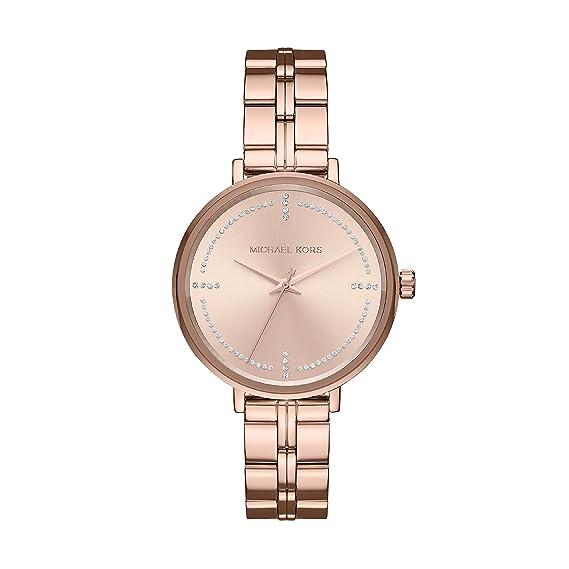 Michael Kors Reloj Analogico para Mujer de Cuarzo con Correa en Acero Inoxidable MK3793