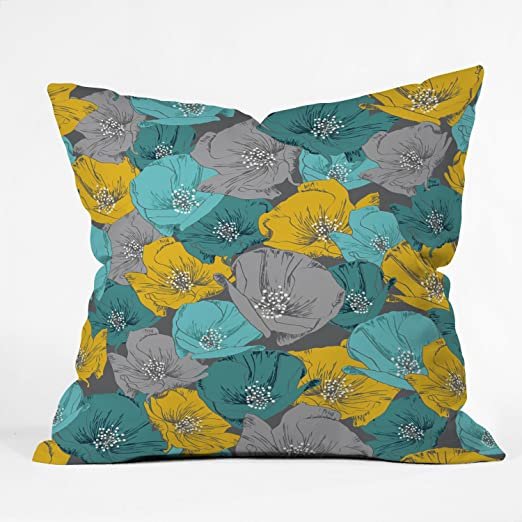 26 x 26 Deny Designs Khristian A Howell Bryant Park 3 Throw Pillow