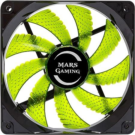 Mars Gaming MF12 - Ventilador para Ordenador (9 aspas, iluminación ...