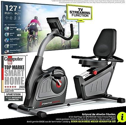 Sportstech ES600 - ergómetro profesional con control de aplicación ...