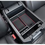 JDMCAR Compatible with Center Console Organizer 4Runner Accessories 2010-2021(Red Trim)