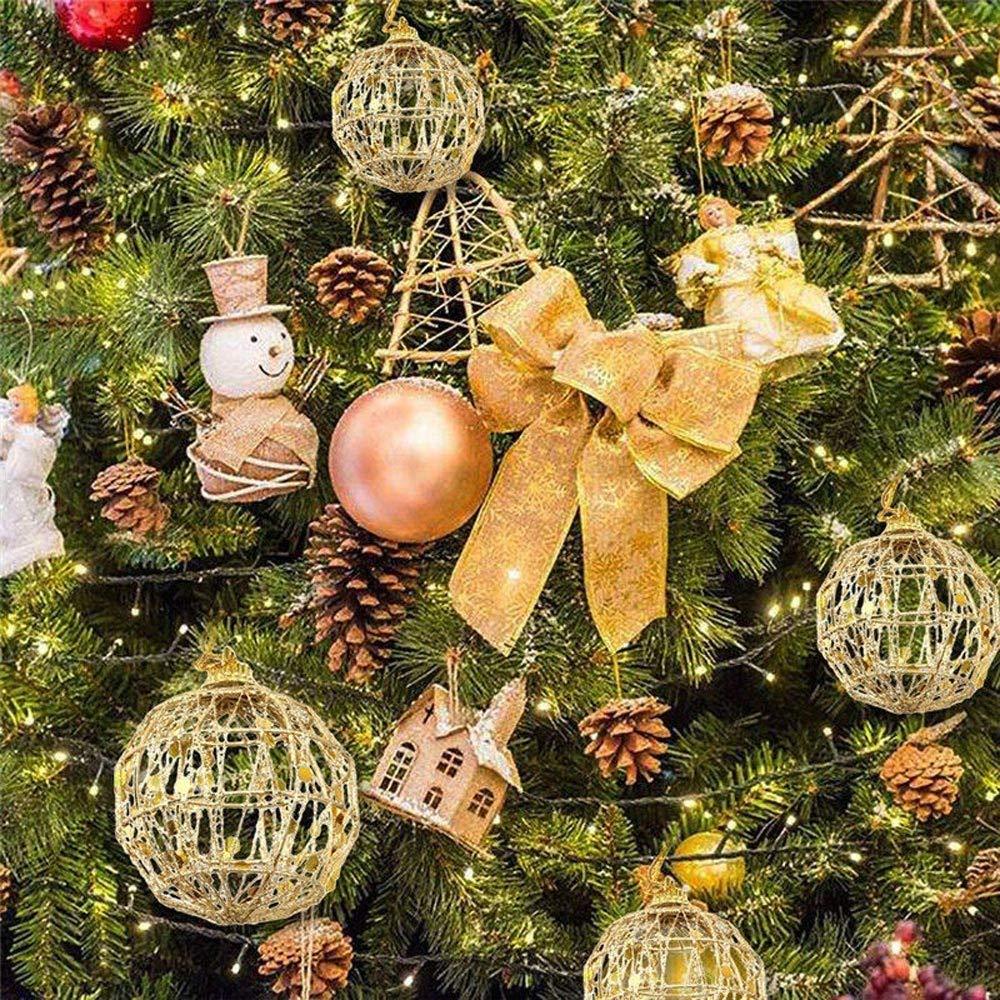 12x Weihnachtsbaumschmuck Hängedeko Dekofigur Anhänger Ornamente mit