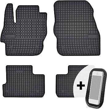 Moto Moltico Gummimatten Auto Fußmatten Gummi Automatten Passgenau 4 Teilig Set Passend Für Mazda 3 Ii 2008 2013 Auto