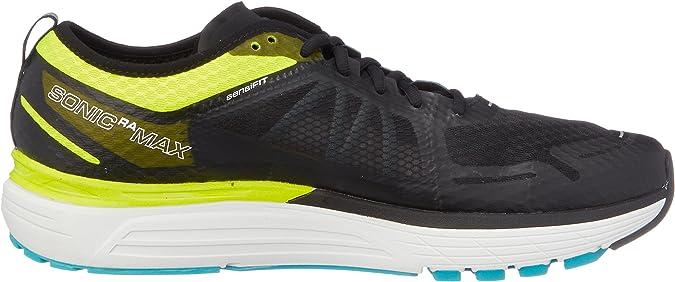 Salomon Sonic Ra MAX, Zapatillas de Trail Running para Hombre, Amarillo (Safety Yellow/Black/Bluebird 000), 41 1/3 EU: Amazon.es: Zapatos y complementos