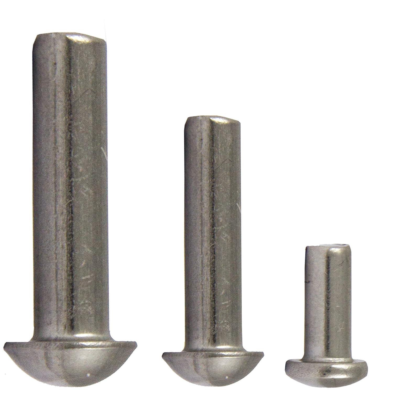 vollnieten semicircular Remaches DIN 660/Acero Inoxidable A2/ | Remaches de cabeza redonda remaches opiol Quality 50/unidades