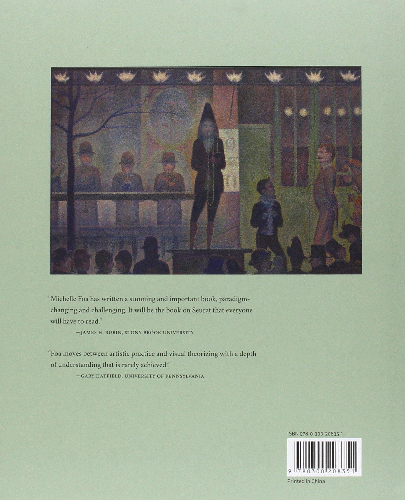 georges seurat the art of vision michelle foa 9780300208351 amazoncom books - Visual Paradigm 102